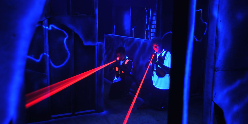 Overnighter and Laser Tag