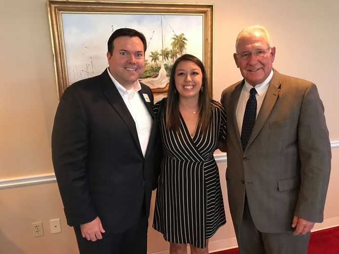 SPG attends Pensacola Chamber of Commerce Gopher Breakfast