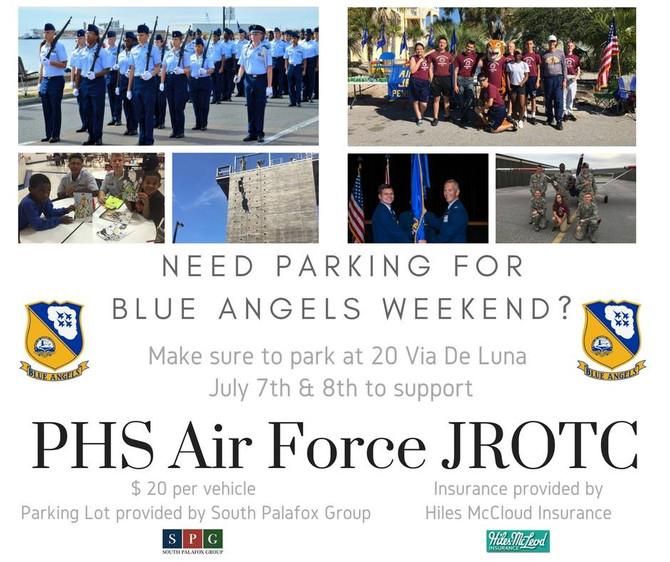 PHS AFJROTC raises $7,500 from parking lot provided by SPG