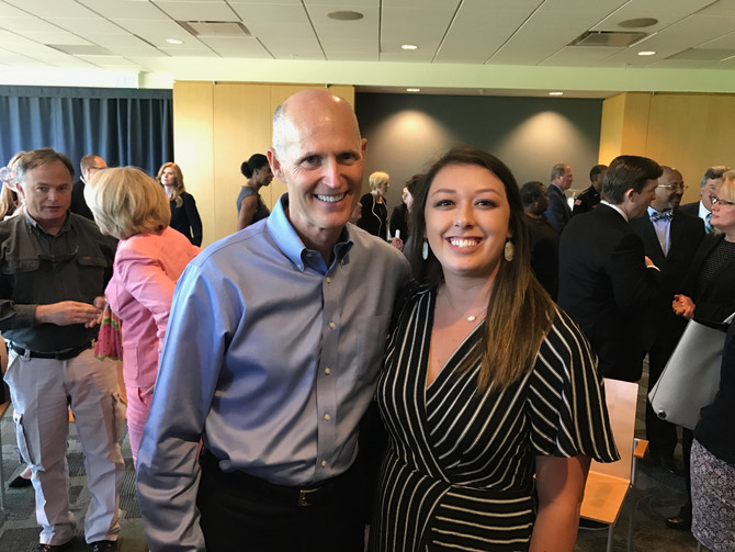 SPG attends Governor's Economic Roundtable