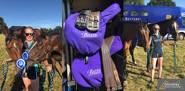 Riding in Bates Saddles, Annie Forsyth 4th & 10th at Eridge 2018