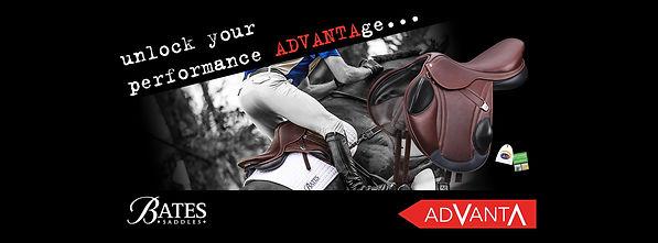 Bates Advanta Saddle for Annie Forsyth Eventing