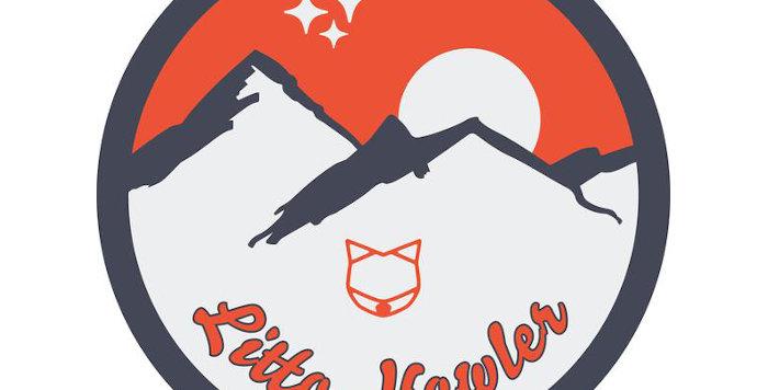 Litto Howler Mountains Logo ステッカー