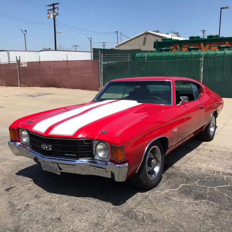 1972y Chevrolet Chevelle SS