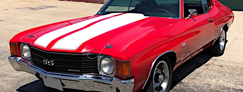 1972y Chevrolet Chevelle SS シボレーシェベルSS