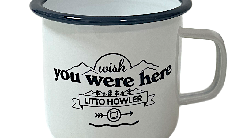 Litto Howler Camp Mug リットハウラーキャンプマグカップ