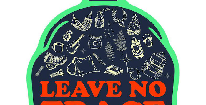 Litto Howler Leave No Trace ステッカー