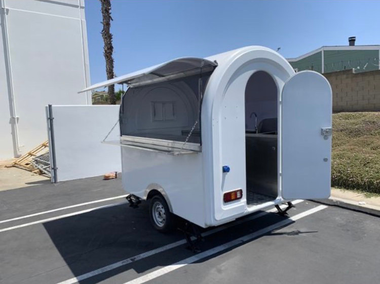 2020y Food Trailer made in USA