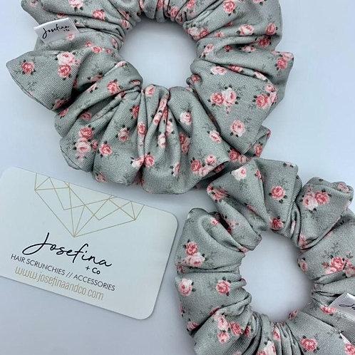 Vintage Rose Scrunchie