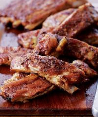 Spareribs with Balsamic Glaze