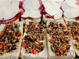 Muffuletta Italian Sandwiches