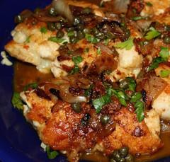 Chicken Saltimbocca with Liberties