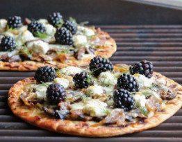 GOAT CHEESE GRILLED FLATBREAD