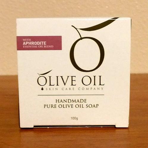 Handmade Pure Olive Oil Soap - Aphrodite