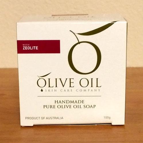 Handmade Pure Olive Oil Soap - Zeolite