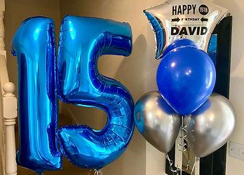 Helium balloon numbers