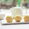Deep fried glutinous rice balls with sesame (3pcs)