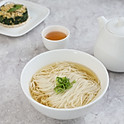 Traditional Shanghai style noodle soup