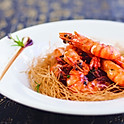 Deep fried prawn with shell in Shanghai style sweet & sour sauce