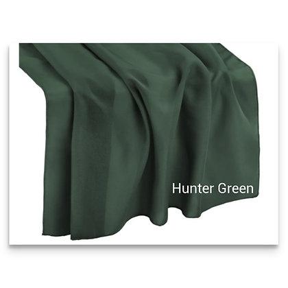 Chiffon runner, Hunter Green $ 5.75 each