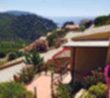 Vista Mare dagli appartamenti di Costa Paradiso