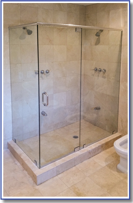 corner shower enclosure model