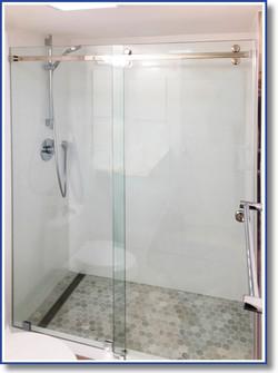 Barn Door Shower Enclosure, South Miami