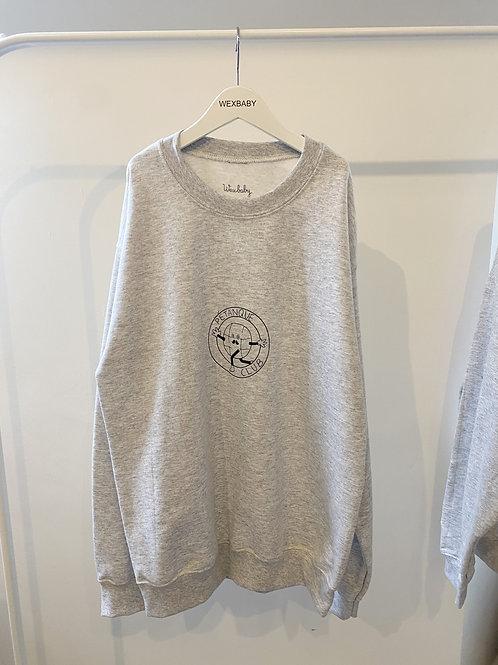 Petanque sweatshirt Grey SMALL