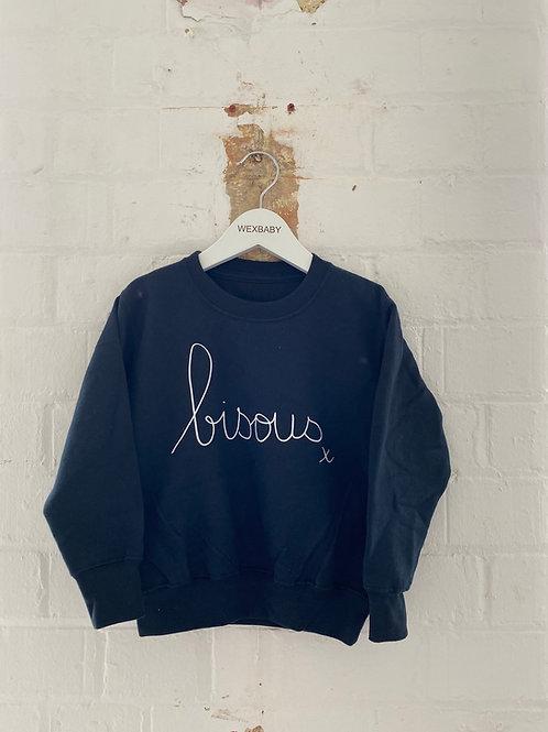 Bisous sweatshirt 5-6 years
