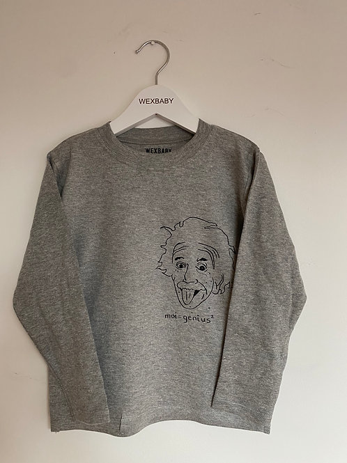 Albert Grey long sleeve tee 4-5 years