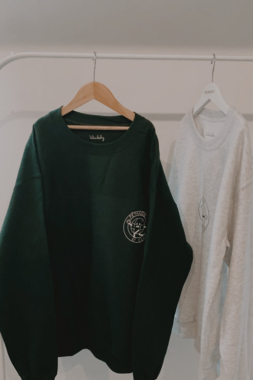 Petanque sweatshirt Forest Green Medium
