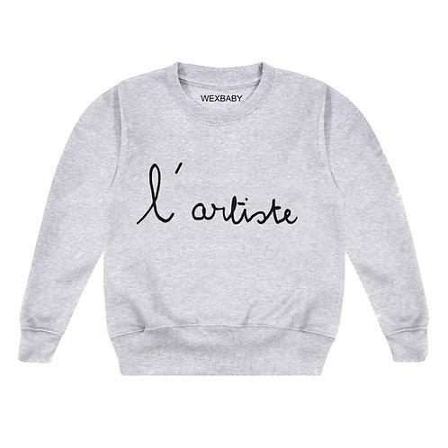 L'artiste sweatshirt