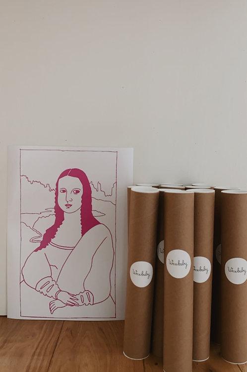 Mona Lisa A3 Art print