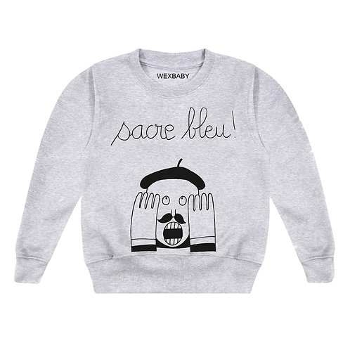 SACRE BLEU sweatshirt 1-2 years