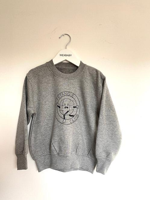 Petanque sweatshirt 3-4 years