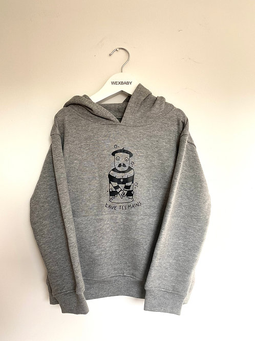 Wash your hands 4-5 years hoodie