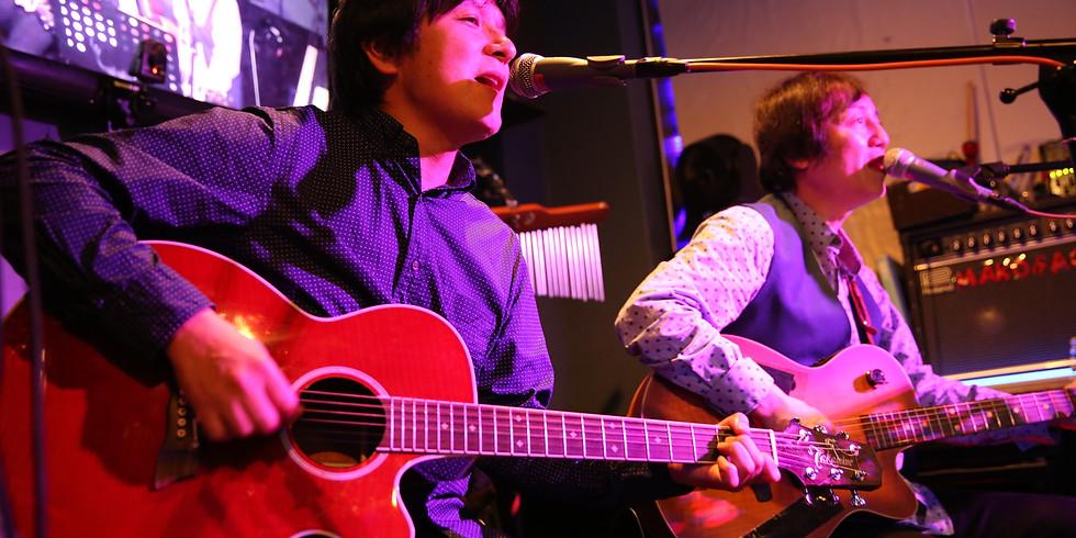 BACK☆STONE(後藤コータロー&石橋健一郎)ビートルズライブ