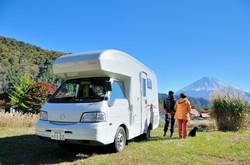 レンタルキャンピングカー富士山