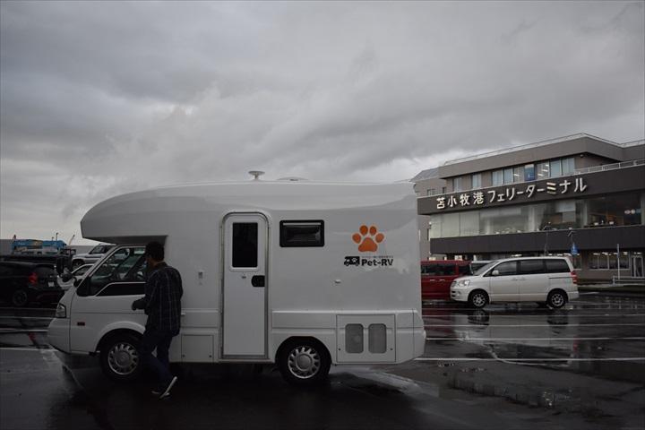 2018北海道旅行_苫小牧フェリーターミナル