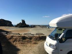 レンタルキャンピングカー犬岩