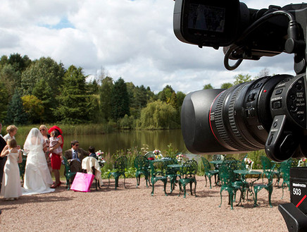 Kidderminster Wedding Videographer Photographer, Multi Media Market Wedding Videography.