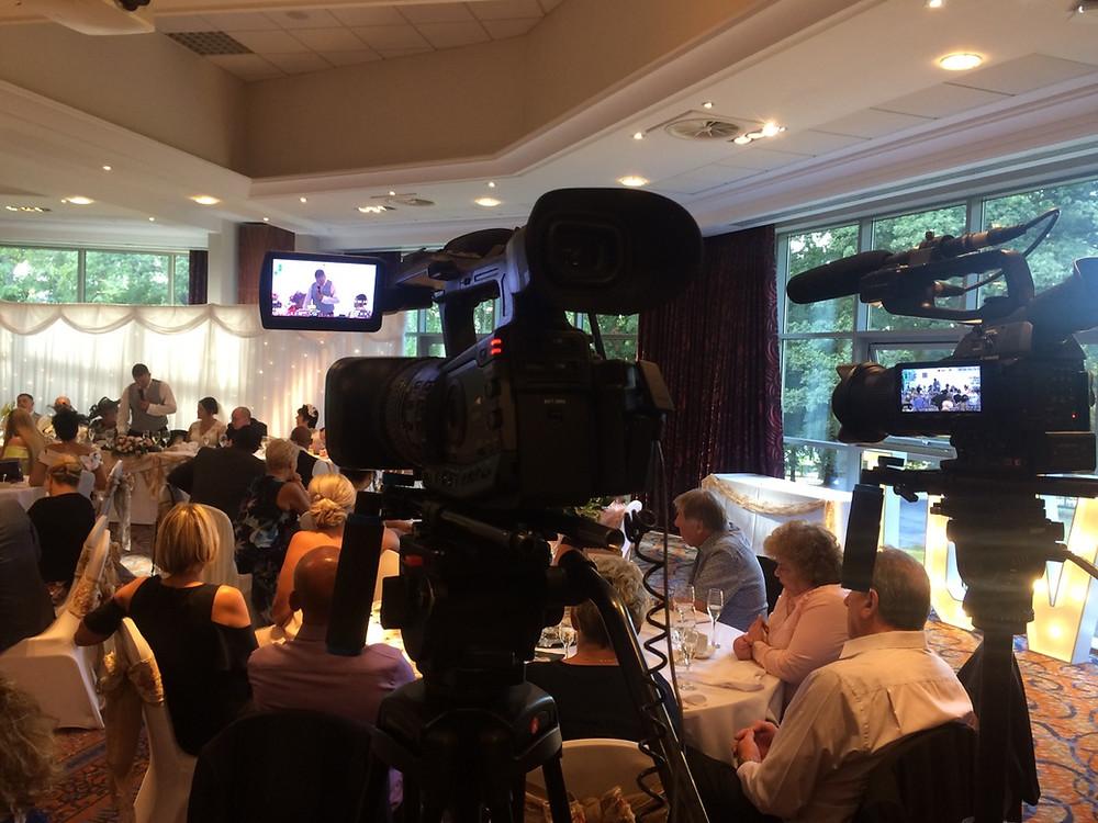 Grooms speech at Drayton Manor Hotel, The Multi Media Market, West Midlands