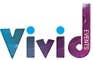 Vivid Events Logo, designed by The Multi Media Market