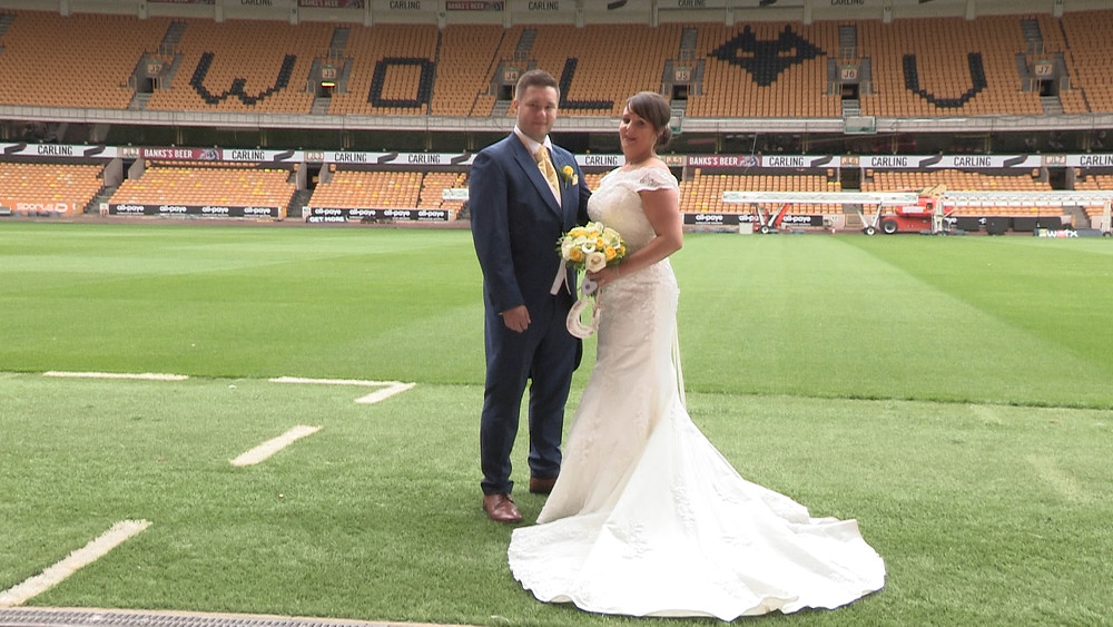 Wolverhampton Wedding Videographer, The Multi Media Market at the Molineux