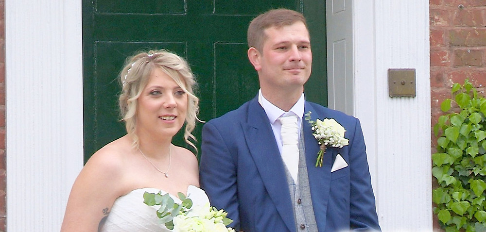 Bride and groom filmed by The Multi Media Market