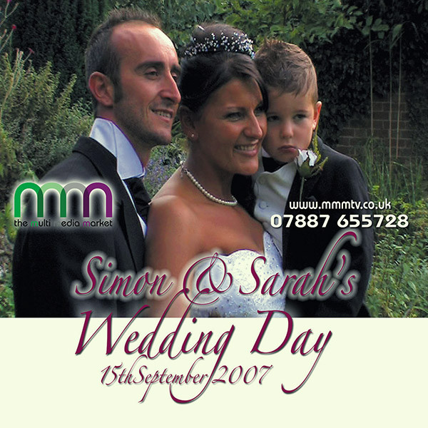 Sarah and Simons wedding dvd got lost