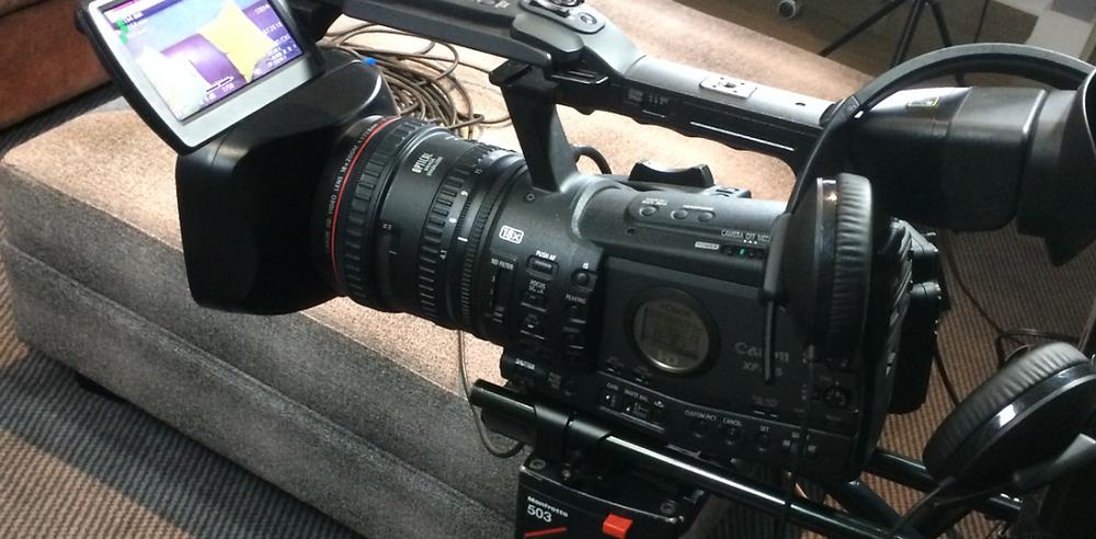 Freelance Videographer Film Shoot, The Multi Media Market, West Midlands