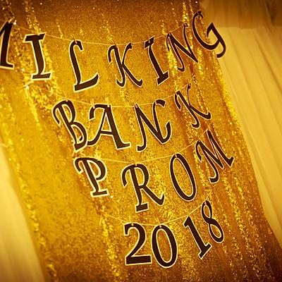 Milking Bank Prom 2018