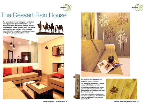 The Desert Rain House