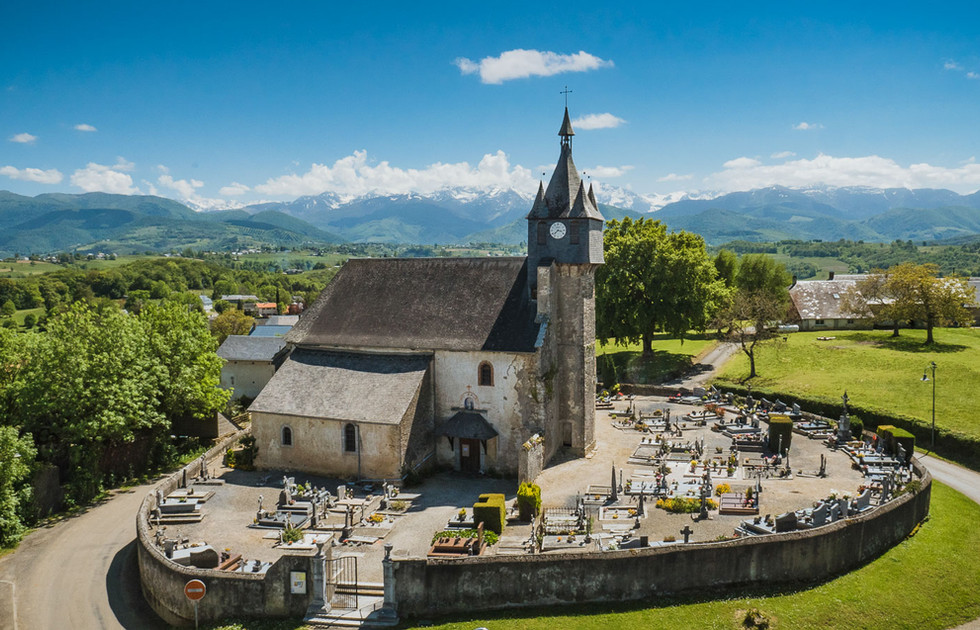 Orignac Hautes Pyrénées Eglise